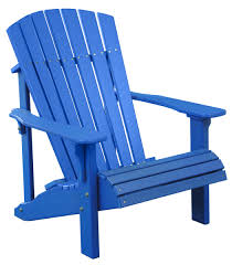 Sensational Blue Chair Photo Inspirations Furniture Home Deluxe Adirondack All Tri State Outdoor Products