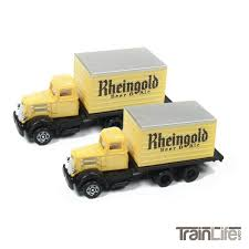 N Scale: WC22 Delivery Box Truck - Rhiengold Beer - 2 Pack ... Tomytec Nscale Truck Collection Set D Lpg Tanker Gundambuilder N Scale Classic Metal Works 50263 White Wc22 Kraft Finenscalehtml Oxford Diecast 1148 Ntcab002 Scania T Cab Curtainside Ian 54 Ford F700 Delivery Trucks Trainlife Gasoline Tanker Semi Magirus Truck Wiking 1160 Plastic Tender Truckslong Usrapr 484 Northern 1758020 Beer Trucks Athearn 91503c Cseries Cadian 100 Ton N11 Roller Bearing W Semiscale Wheelsets Black 1954 Green Giant 2 Pack 10 Different Ultimate Scale Trucks Bus Kits Most In Orig