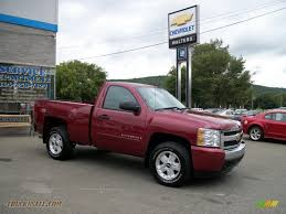 2007 Chevrolet Silverado 1500 LT Z71 Regular Cab 4x4 In Sport Red ...