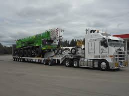 100 West Trucking Heavy Haulage Transport Coast