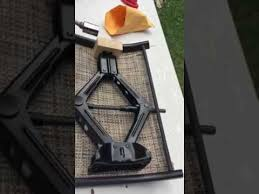 Replacement Patio Chair Slings by Replace Your Patio Chair Sling Using A Car Jack As A Spreader
