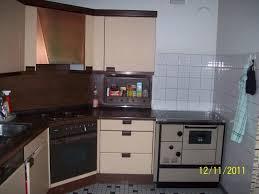 neue küche mit vorhandenen holz küchenherd fertig mit