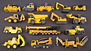 Construction Vehicles For Kids #1 Best Bulldozers Dump Trucks ...