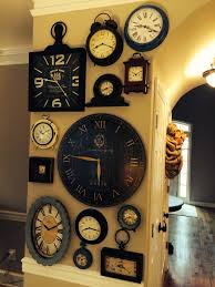 Impressive Collection Of Large Wall Clocks Decor Ideas That You ... Pottery Barn Large Wall Clocks Ashleys Nest Potterybarn Inspired Clock Black Railway Regulator Ebth Union Station Au Rustic Pendant 16 Best Giant Images On Pinterest Wall Clock Just Photocopy 4 Diff Faces And Put Them Under A Glass Plate Oversized John Robinson House Decor Mount Digital Timer