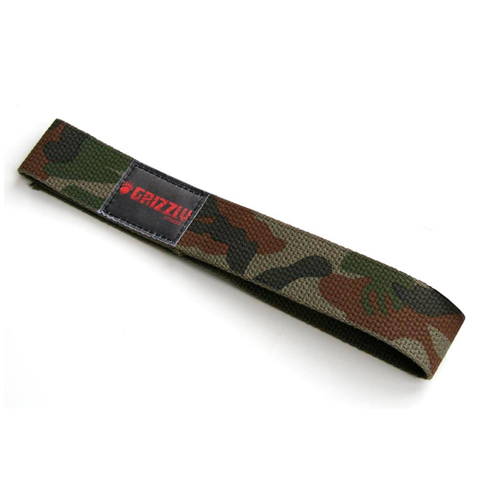 Grizzly Fitness Cotton Lifting Straps - Camouflage
