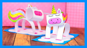 3D Unicorn Craft