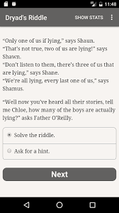 The Dryads Riddle For Android