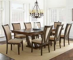 Wayfair Dining Room Chair Cushions by Steve Silver Gabrielle 9 Piece Dining Room Set In Medium Walnut