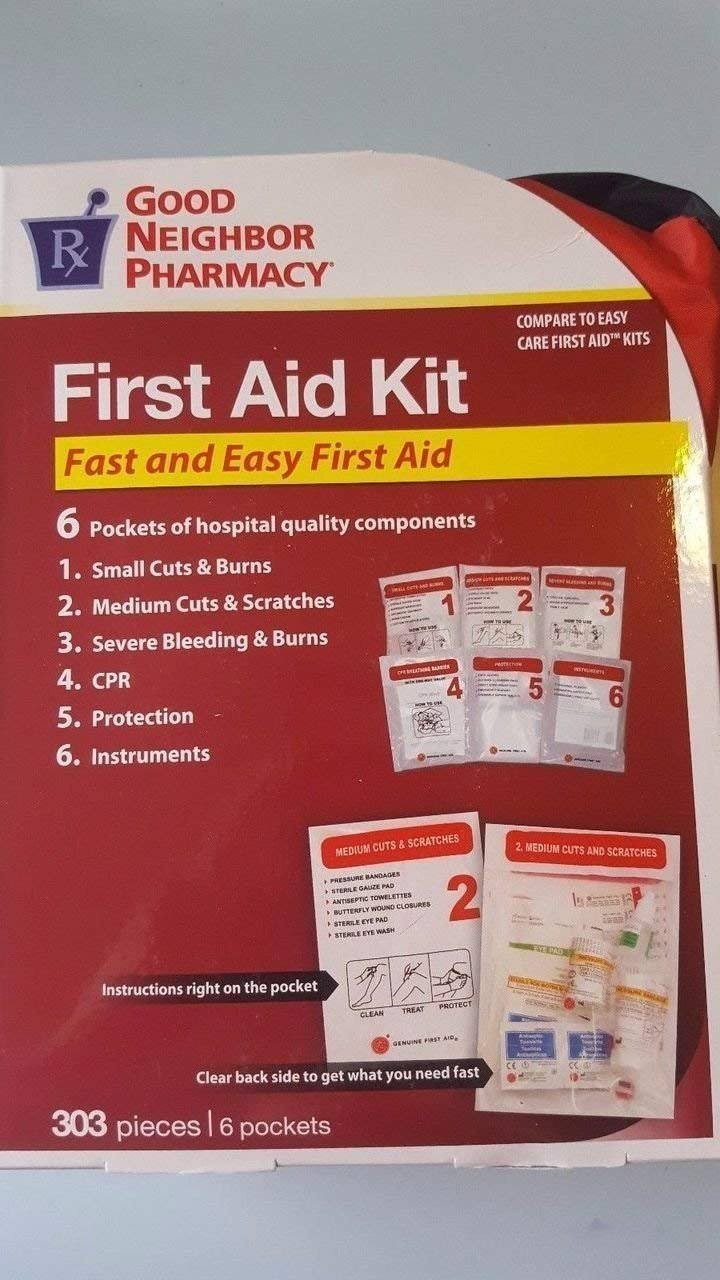GNP 303 Piece First Aid Kit