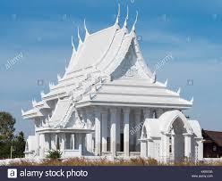 100 Banglamung White Buddhist Temple In Huai Yai Near Pattaya In Stock