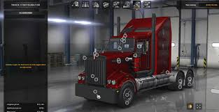 100 Kenworth Truck Dealers T908 Mod ATS Mod American Simulator Mod