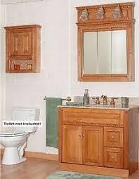 Ebay 48 Bathroom Vanity by Newport Oak Bathroom 36 034 Vanity Rh Drawers Medicine Cabinet