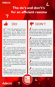 The Do's And Don't's For An Efficient Resume How To Write A Resume 2019 Beginners Guide Novorsum Ebook Descgar Job Forums Valerejobscom 1 Basic Resume Dos And Donts Pdf Formats And Free Templates Tutorialbrain Build A Life Not Albatrsdemos The Dos Donts Writing Rockin Infographic Top Writing Tips Get An Interview Call Anatomy Of How Code Uerstand Visually Why You Should Go To Realty Executives Mi Invoice Format Donts Services For Senior Cv Guides Student Affairs