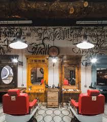 interior barbershop design ideas hair salon shop front design