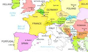 Map With Capitals States And Quiz Inspiring World Simple Of Europe Countries