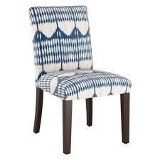 Parsons Dining Chair Tonal Blue Ikat - Threshold , Blue ... Lily Navy Floral Ikat Accent Chair Navy And Crimson Ikat Ding Chair Cover Velvet Ding Chairs Tufted Blue Meridian Fniture C Angela Deluxe Indigo Pier 1 Imports Homepop Parson Multicolor Set Of 2 A Quick Living Room And Refresh Stripes Whimsy Loralie Upholstered Armchair With Walnut Finish Polyester Stunning And Brown Ideas Ridge Table Eclectic Decatorist Espresso Wood Ode To The Skirted Katie Considers