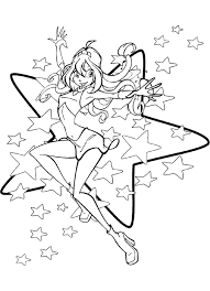 Baby Coloring Winx For Girls