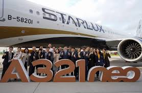 100 Star Lux STARLUX Receives First A321neo
