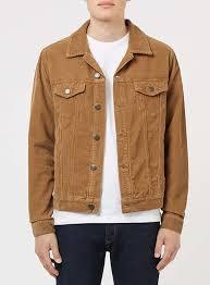 tobacco corduroy jacket topman