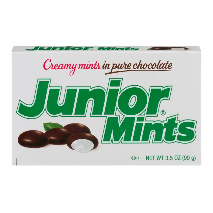Junior Mints Creamy Mints in Chocolate - 4oz