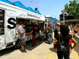 99 Seabirds Food Truck Blazing Saddles Los Angeles Vegan Beer Festival 4th
