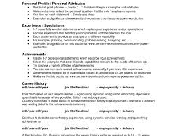 How To Sell Yourself In A Resume Exles 100 Images
