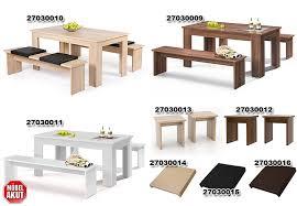 tischgruppe münchen esszimmerset küchen tisch bank in weiß