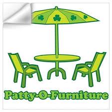 Patty O Furniture Wall Decal