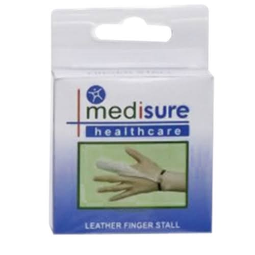 Medisure Medium Finger Stall Leather