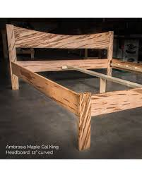 Here s a Great Deal on AMBROSIA MAPLE Simple Platform Bed Frame