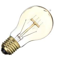 e27 a19 110v 220v 60w 15 anchors edison filament incandescent bulb