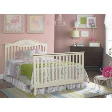Cribs That Convert To Toddler Beds by Fisher Price Mia 4 In 1 Convertible Crib Snow White Walmart Com