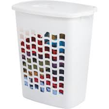 Christmas Tree Storage Container Rubbermaid by Rubbermaid Clothes Hamper Fg2656tpwht Do It Best