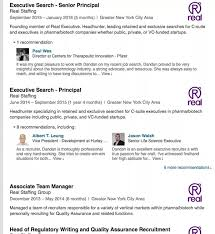 How Should My LinkedIn Profile Differ From Resume Quora Best Templates Search Resumes On Linkedin