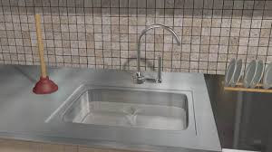 kitchen awesome unclog sink standing water on intended 3 remodel