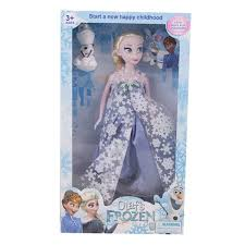 Buy Asaan Buy Pack Of 2Beautifuly Dressed Frozen Doll With Snowman