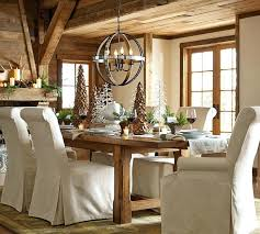 Pottery Barn Kitchen Tables Medium Pixels Large Rustic Dining Room Design With Wooden