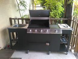 cuisine barbecue gaz barbecue à gaz 5 brûleurs cuisine extérieure d artagnan