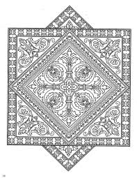 Tile Adult Coloring Pages