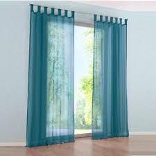 vorhänge gardinen wohnzimmer schlaufenschal stores voile