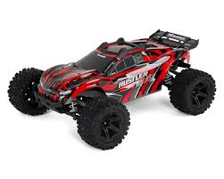 Traxxas Rustler 4X4 1/10 4WD RTR Stadium Truck (Red) [TRA67064-1-RED ...