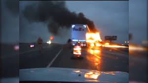 100 Fedex Truck Wreck Dash Cam Video Of Fiery FedEx Truck Wreck Released