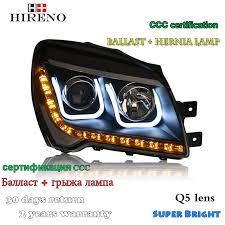 hireno headl for 2007 2017 kia sportage headlight assembly led