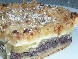apfel blechkuchen mit pudding und mohn