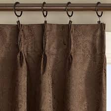 Curtains For Traverse Rods by Home Decor Wonderful Pleated Drapes Combine With Monique Jacobean