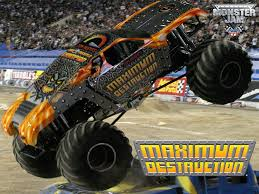 Maximum Destruction Monster Truck | Monster Jam | Monster Trucks ... Maximum Destruction Monster Truck Toy List Of 2017 Hot Wheels Jam Trucks Wiki Battle Playset Walmart Intended For 1 64 Max D Yellow 2016 New Look Red Includes Rc Remote Control Playtime Morphers Vehicle Jual Stock Baru Monster Jam Maxd Revell Maxd Model Kit Scratch Catchoftheday