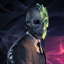 Payday 2 Halloween Masks Unlock by The One Good Mask And It U0027s Eye Is Glitched In Third Person