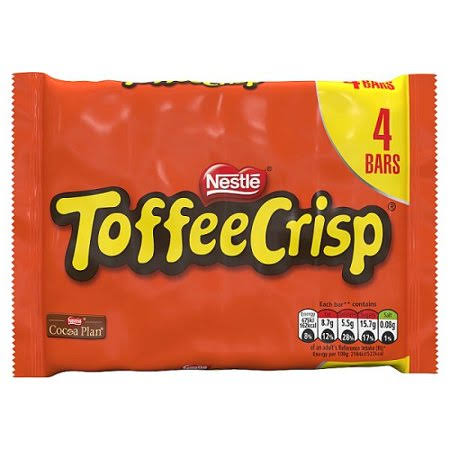 Nestle Toffee Crisp - 4ct, 31g
