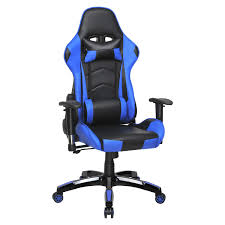 4HOMART Gaming Chair, High Back Ergonomic Style Racing Chair Leather 180  Degree Reclining Computer Chair 360 Degree Swivel Adjustable Office Chair  ...