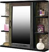 spiegelschrank bad holz günstig kaufen lionshome